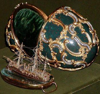 Egg with a surprise Faberge 1891