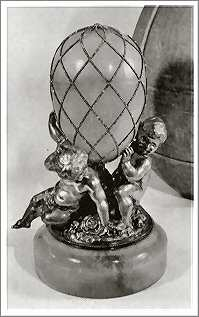 Diamond Trellis Egg Faberge 1892