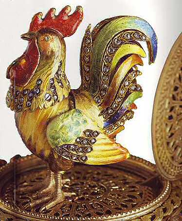 Chanticleer egg Faberge