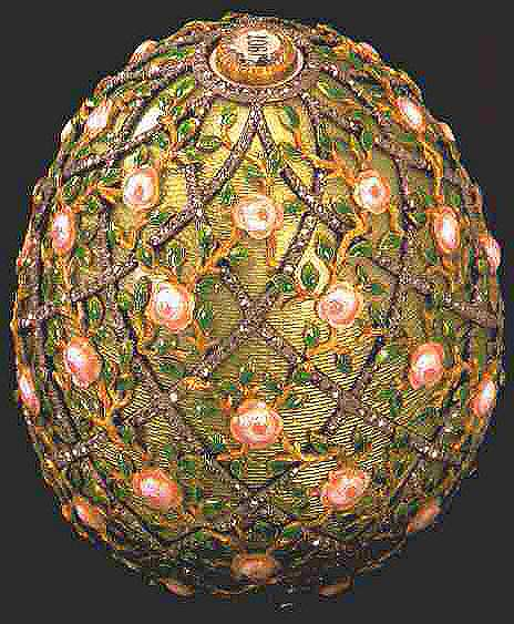 Rose Trellis egg 1907