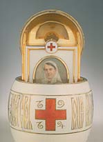 egg Red cross Faberge