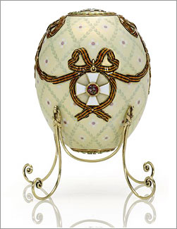 egg Order of Saint George Faberge